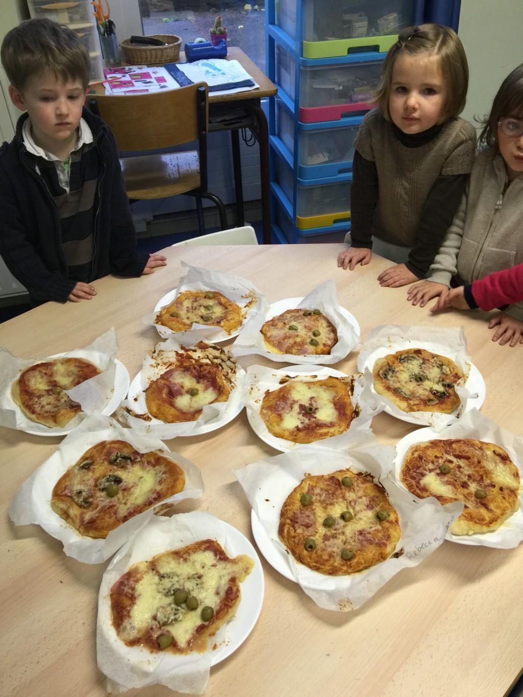 Dégustation pizza - atelier découverte Italie