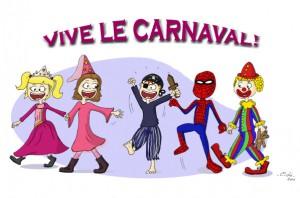 carnaval école à Nantes