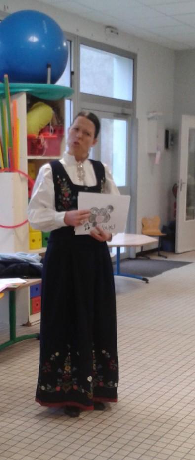 Madame ROBAN en costume norvégien